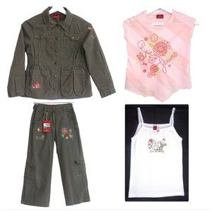 NWT French Designer Chipie complete outfit size 10